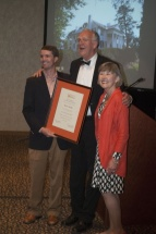 Bruce Yandle was named an honorary Clemson alumnus.