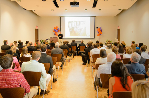 Clemson MBAe students compete for start-up funding for the potential new businesses.