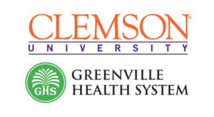 Clemson and Greenville Health System logos