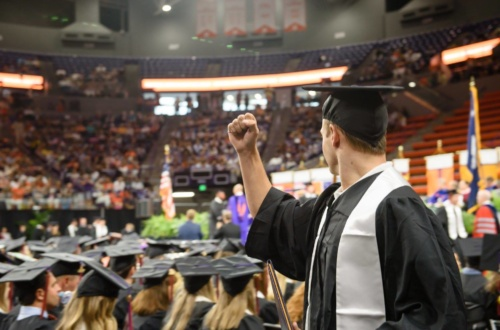 Clemson University will award degrees Dec. 21.