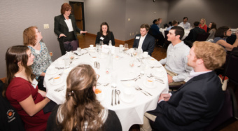 EDGE, First Citizens Bank, Etiquette dinner, soft skills