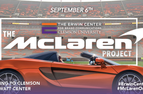McLaren, Erwin Center, Creative Inquiry, Brand