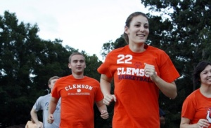 The Clemson Fit Run is hosted by the student advisory boards in the College of Engineering, Computing and Applied Sciences and the College of Science.