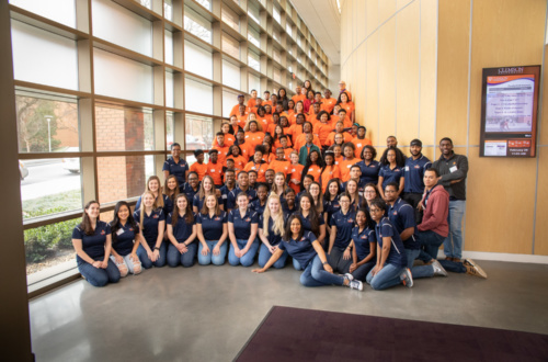 Underrepresented students from across the Upstate came to Clemson in February to learn what opportunities a STEM career can offer.
